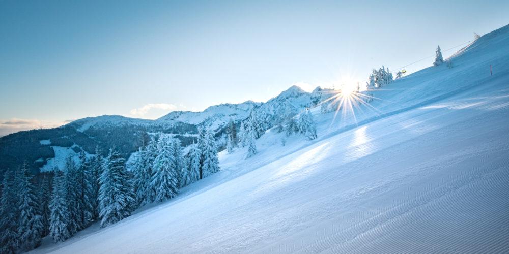 Winter wonderland, Winterlandschaft, Piste, Skifahren, Ski amadé