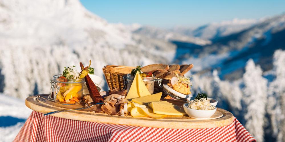 Ski amadé Kulinarik, Jause am Berg