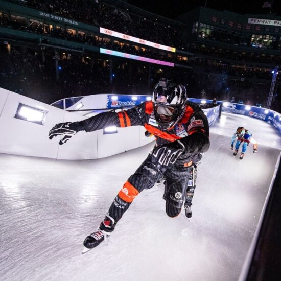 Red Bull Ice Cross Downhill Social Media Betreuung