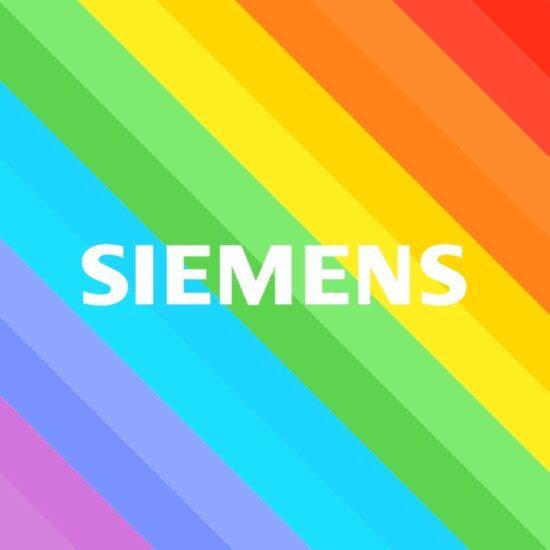 Siemens Regenbogen Face-Filter